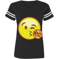Ladies Relaxed Fit Vintage Sports Tee