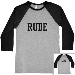 Misses Rude Girl Good Time Tee