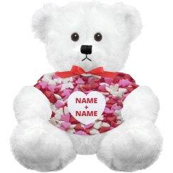 Custom Valentine's Day Love Bear