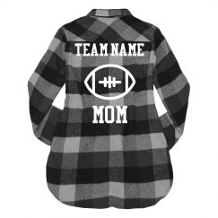 Custom Football Mom Flannel