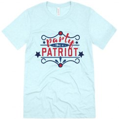 Fourth of July Party Patriot