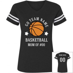 Basketball Star Custom Mom Shirt