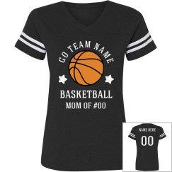 Basketball Star Custom Mom Shirt