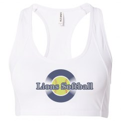 Lions Softball Sports Bra