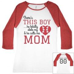 Baseball Boy Stole Mom's Heart