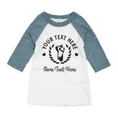 Youth 3/4 Sleeve Raglan Tee