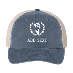 Custom Dance Hat Add Text