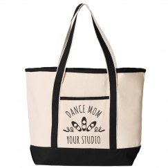 Custom Dance Mom Studio Tote