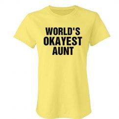 Okayest Aunt