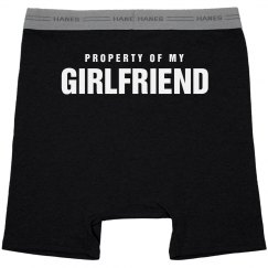 Property Of My Girlfriend Boxers
