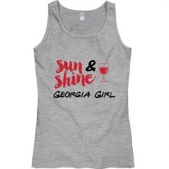 Sunshine & Wine Georgia Girl