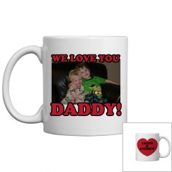 Photo Mug for Dad w/ Back