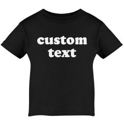 Custom Text Create Your Own Baby