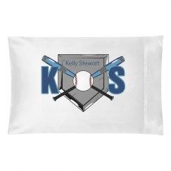 Baseball Initials Pillow