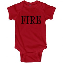 Fire Onesie