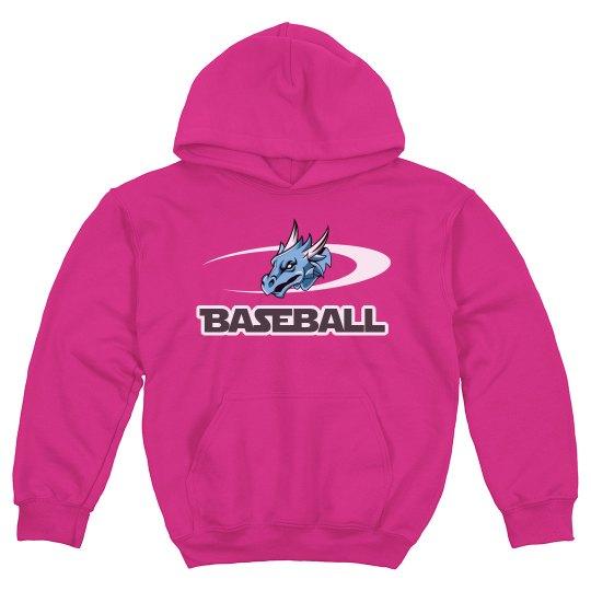 #29--Youth-Hoodie. Gildan Brand-Pink