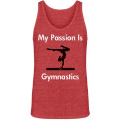 My passion is gymnastics