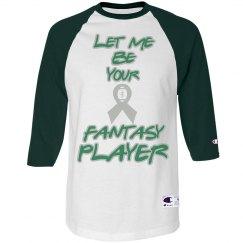 Green/ slv fantasy player