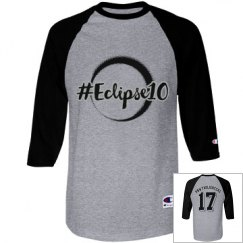 PNWT Champion Raglan with silver outline