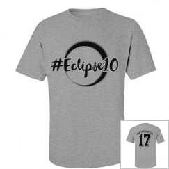 PNWT Eclipse10 Short Sleeve Crew with Silver Outline