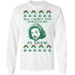 give me jon snow for christmas
