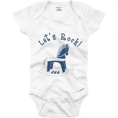Let's Rock Baby Onesie
