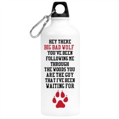 Big Bad Wolf Water Bottle