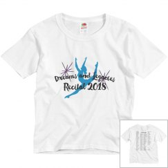 Childrens 2018 Recital T shirt