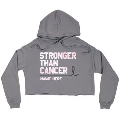 Custom Name Stronger Than Cancer Hooodie