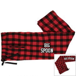 "Unisex ""Big Spoon"" Pajama Pants"