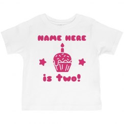Pink Custom Birthday Shirt