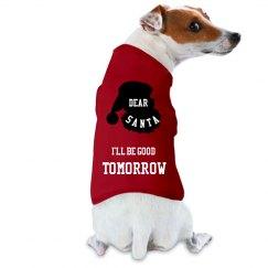 Funny dog Christmas shirt - Santa