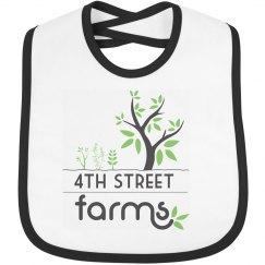 4th Street Farms Baby Bib