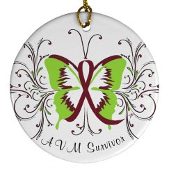 AVM Survivor Ornament