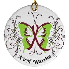 AVM Warrior Ornament