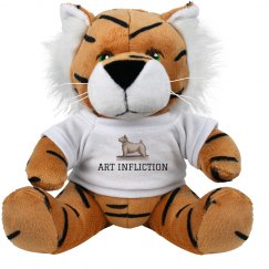 Art Infliction Stuffed Tiger