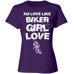 Biker girl love