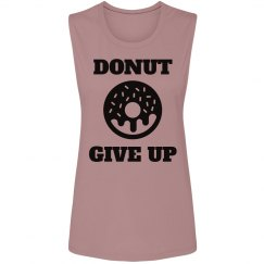 This Girl Donuts Give Up