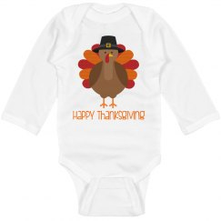 Happy Thanksgiving Baby Onesie