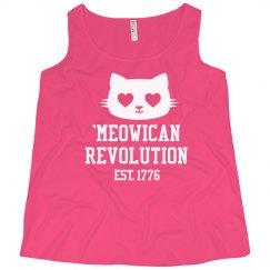 Meowican Revolution in 1776