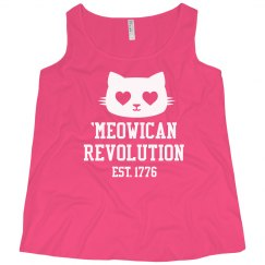 Meowican Revolution in 1776