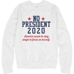 No President 2020 Sweater