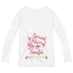 Special Delivery Custom Baby Arrival Tee