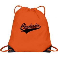 Cheerleader bag orange