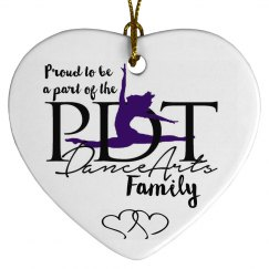 PDT Family Ornament