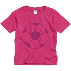 girls youth soccer shirt