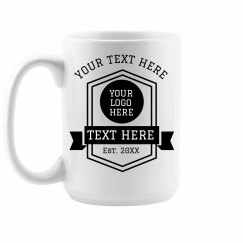 Custom Small Business Coffee Mug