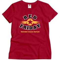 RED Friday Star Distressed