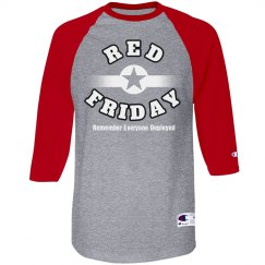 Red Friday Star White