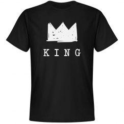 Cute Matching King & Queen Tee 1